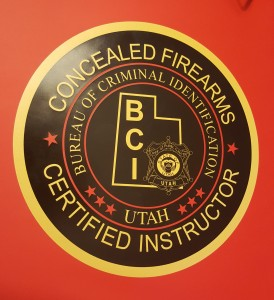 Utah Certified Instructor Concealed Firearms